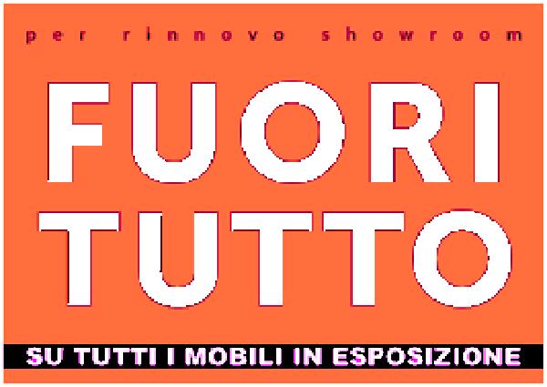 Sconti su mobili dal 40% al 60 % a Torino per rinnovo esposizione ...